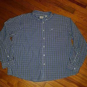 Mens Dockers button down shirt